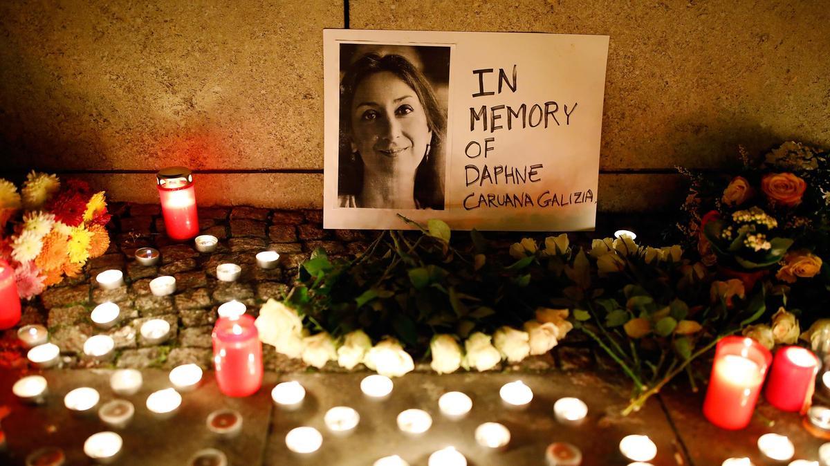 """Ένας χρόνος από τη δολοφονία της γυναίκας """"Panama Papers"""""""