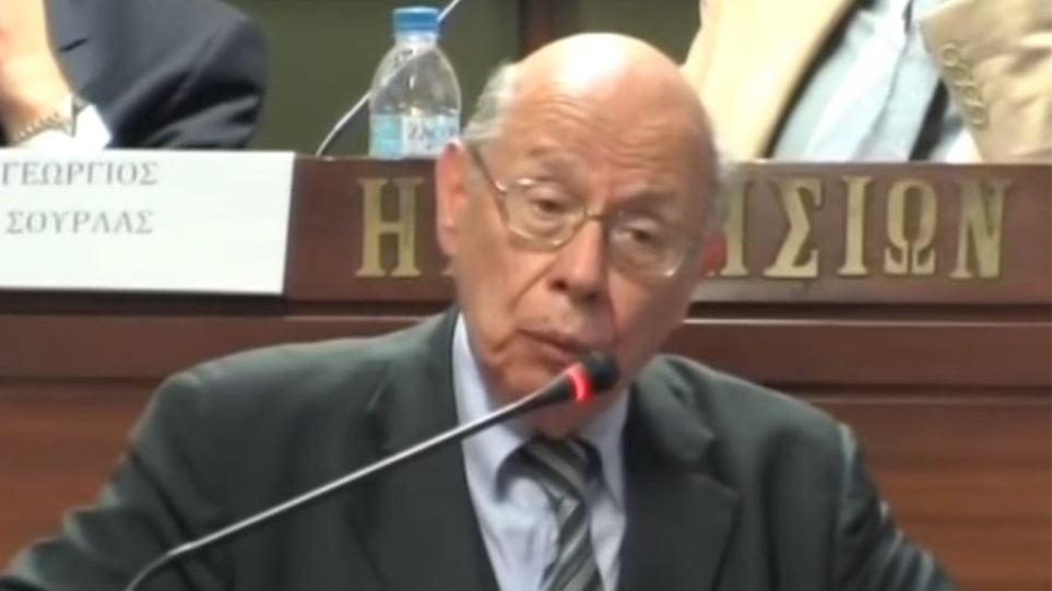 Πέθανε ο δικηγόρος και πρώην βουλευτής Διονύσης Μπουλούκος