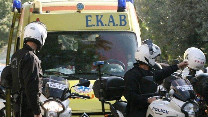 Σοβαρό τροχαίο στη λεωφόρο Αθηνών με δύο τραυματίες