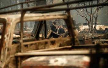 Φωτιές στην Καλιφόρνια: Στους 87 αυξήθηκαν οι νεκροί