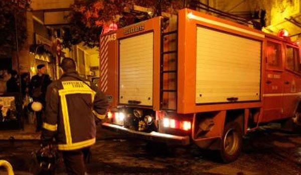 Δύο άνθρωποι νεκροί από πυρκαγιά σε διαμέρισμα στην πλατεία Αττικής