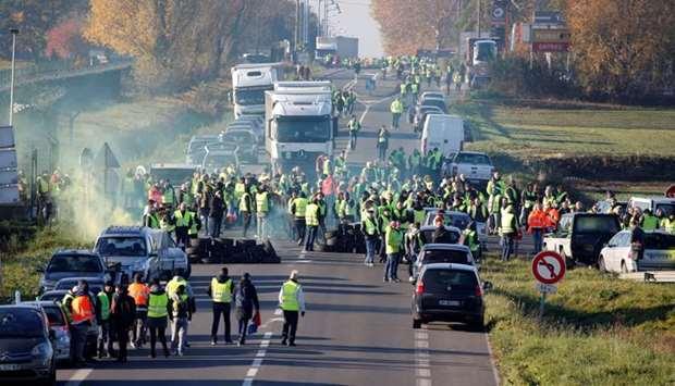 Διαδηλώτρια σκοτώθηκε σε μπλόκο στη Γαλλία