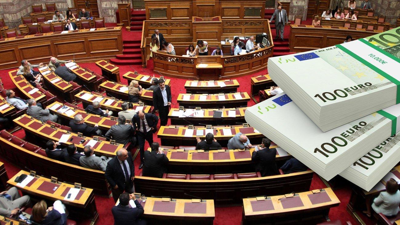 Μποναμάς Χριστουγέννων 6,5 εκατ. ευρώ στα κόμματα ενώ είναι ανοικτός ο φάκελος για τα δάνεια τους