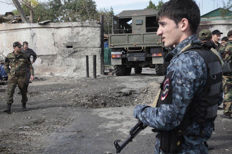 Γυναίκα καμικάζι ανατινάχθηκε κοντά σε αστυνομικό τμήμα στην πρωτεύουσα της Τσετσενίας