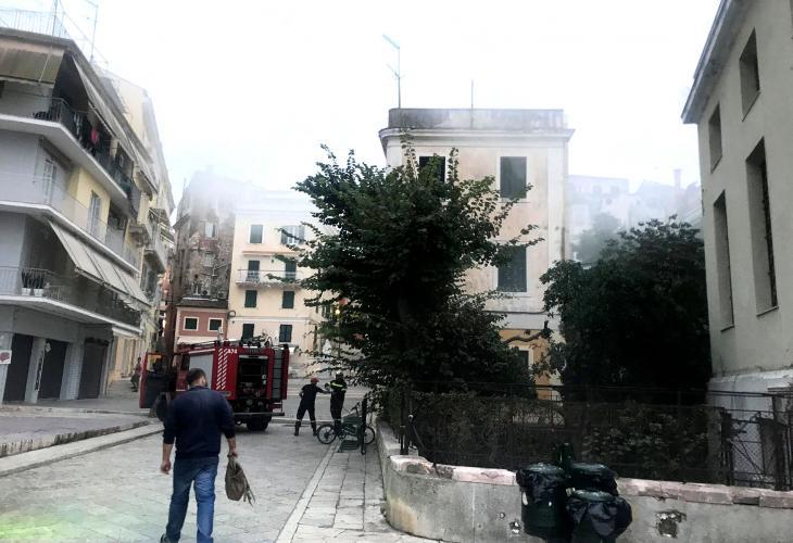 Κέρκυρα: Προανάκριση για τη φωτιά στα Παλιά Δικαστήρια