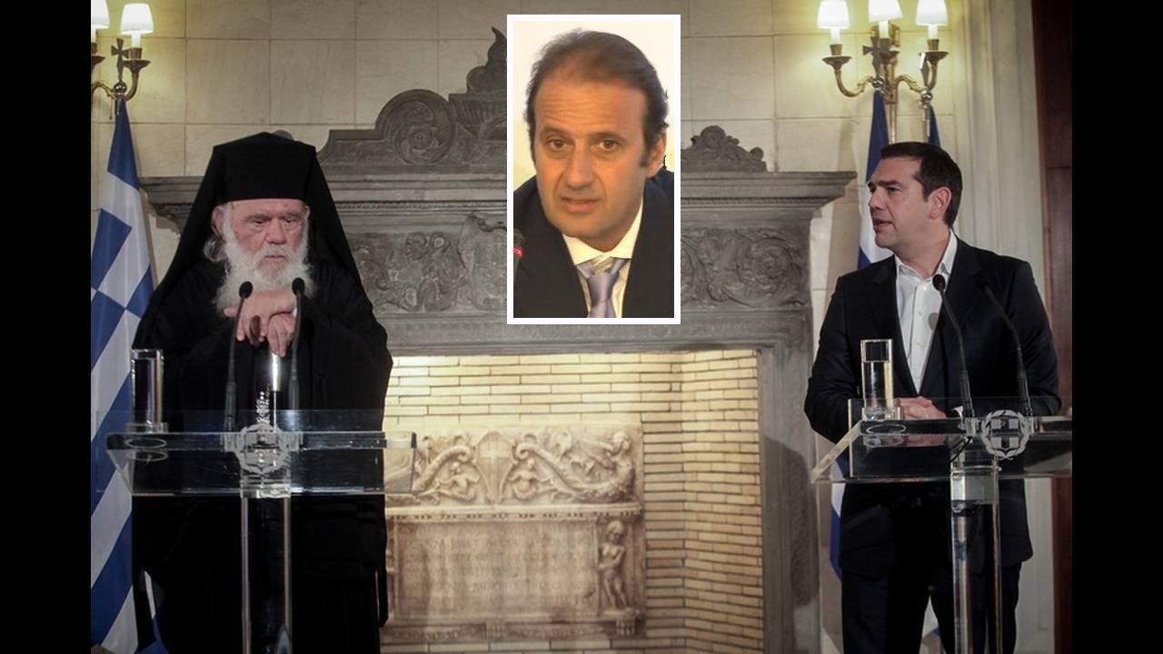Πάνος Λαζαράτος: Έξι απλές σκέψεις για την πρόθεση «συμφωνίας» Κράτους-Εκκλησίας