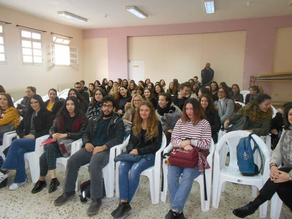 Επίσκεψη φοιτητών της Νομικής Σχολής Θράκης στη φυλακή Κομοτηνής (ΦΩΤΟ)