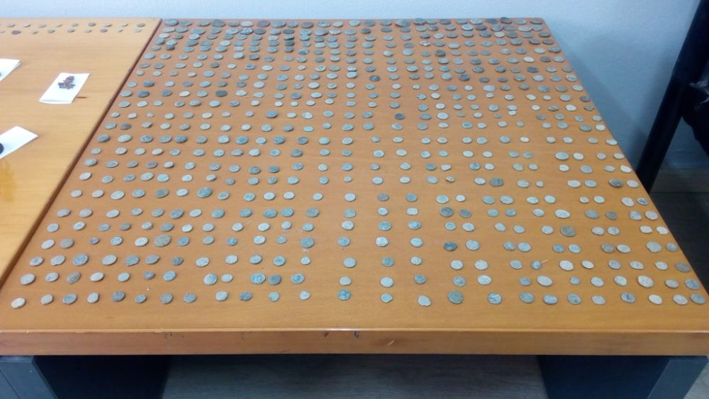 Συνελήφθη με 693 αρχαία νομίσματα