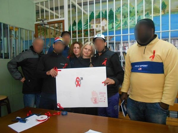 Δράσεις ενημέρωσης για το AIDS στις Φυλακές Νεάπολης και Άμφισσας