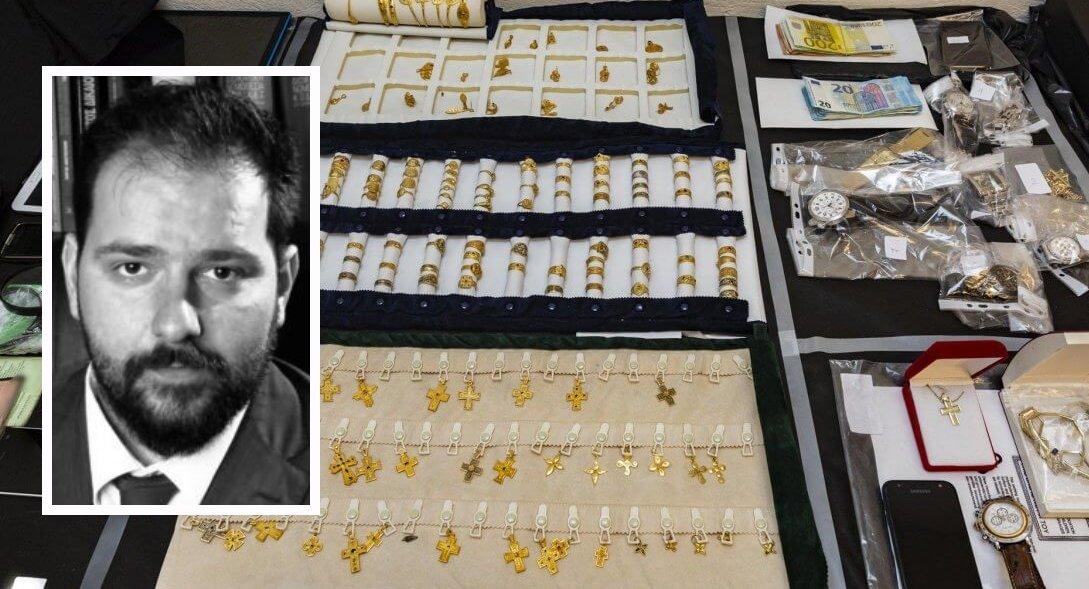 Κωνσταντίνος Γώγος: Η υπόθεση χρυσού και η λαθρεμπορία