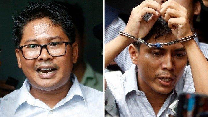 Καταδίκη (σε 2ο βαθμό) δημοσιογράφων του Ρόιτερς που έκαναν ρεπορτάζ για τις σφαγές στην Μιανμάρ
