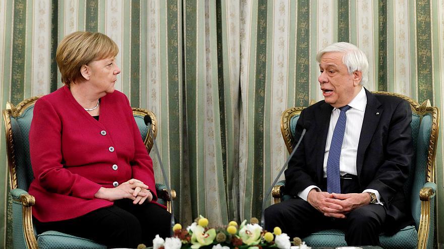 Π. Παυλόπουλος: «Νομικώς ενεργές οι επιδιώξεις για τις γερμανικές αποζημιώσεις» – Α. Μέρκελ: «Έχουμε απόλυτη ευθύνη για τα εγκλήματα των εθνικοσοσιαλιστών»
