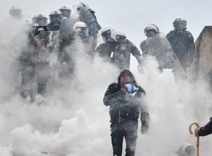 Δημήτρης Αναστασόπουλος: Καταδίκη της χρήσης βίας και δημοψήφισμα για τη «Συμφωνία των Πρεσπών»