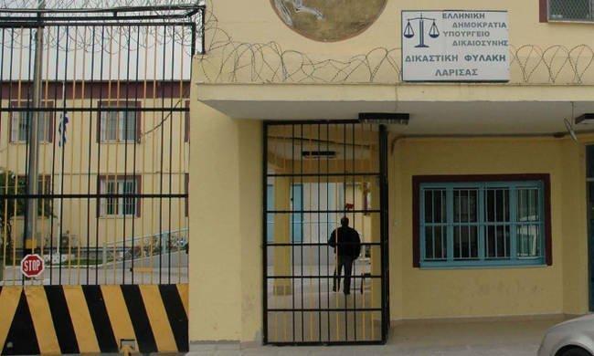 Επίσκεψη του Μ. Καλογήρου στη φυλακή Λάρισας