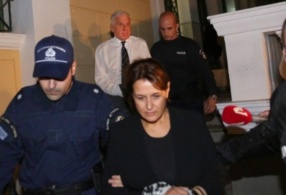 Αίτηση αποφυλάκισης κατέθεσε η σύζυγος του Γ. Παπαντωνίου, Σ. Κουράκου – Τι ψάχνουν οι ανακριτές
