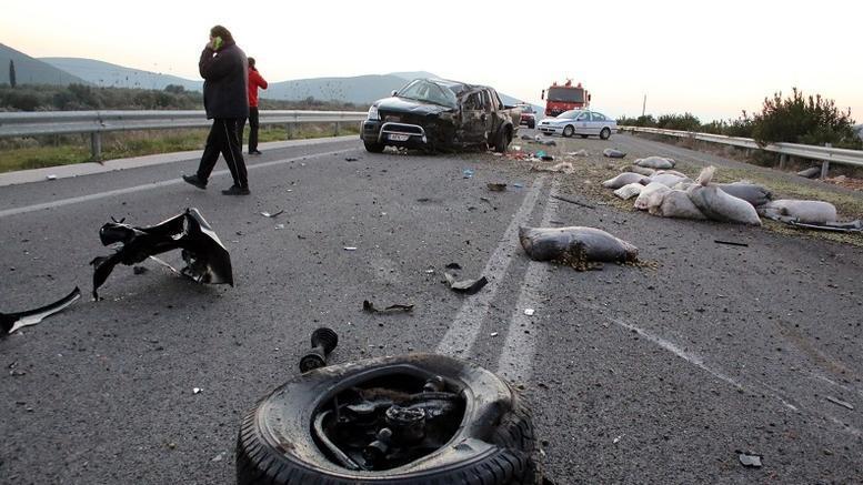 ΕΛΣΤΑΤ: Αυξήθηκαν τα τροχαία ατυχήματα