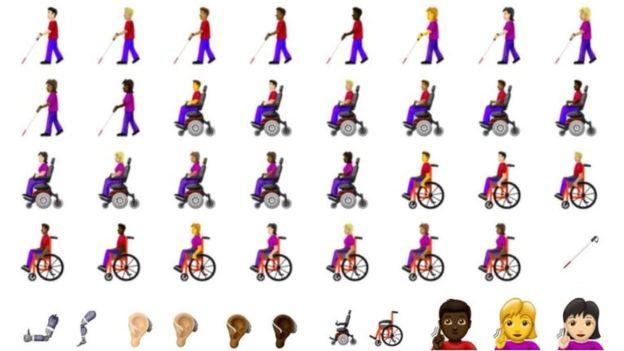 Νέα emojis στα κινητά για την αναπηρία και την έμμηνο ρύση