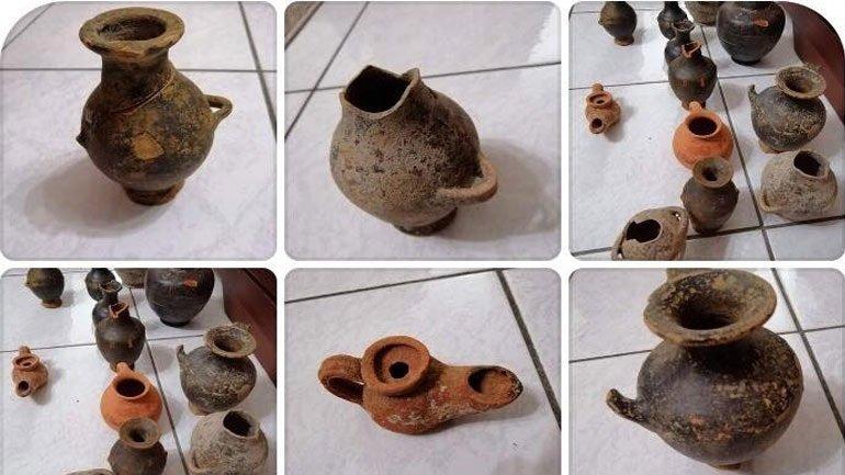 Παράδοση 17 αρχαιοτήτων στη ΓΑΔΑ από τον Γιώργο Τσούκαλη