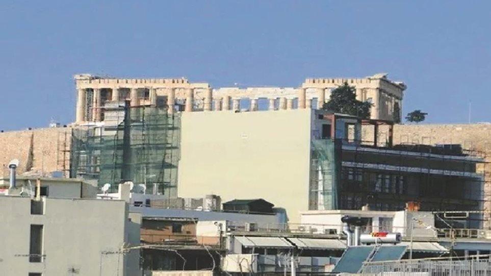 Αναστολή έκδοσης νέων οικοδομικών αδειών γύρω από την Ακρόπολη