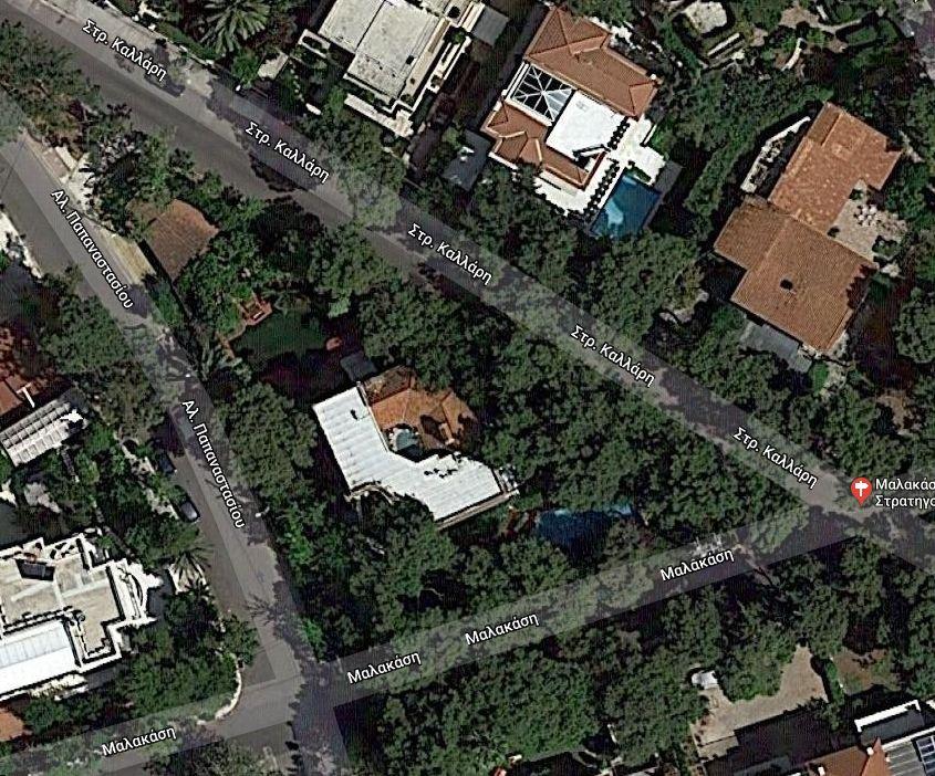 Στο σφυρί ο «πύργος» του Φώτη Μπόμπολα στο Π. Ψυχικό