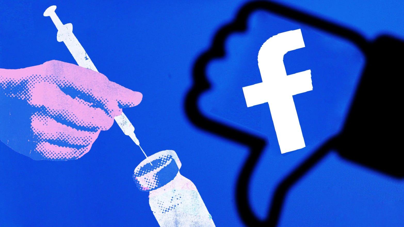 Το Facebook κήρυξε τον πόλεμο στο «αντιεμβολιαστικό κίνημα»