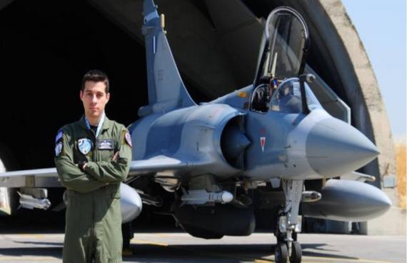 Βασίλης Κοντόπουλος: Έλληνας ο «χρυσός» πιλότος του ΝΑΤΟ