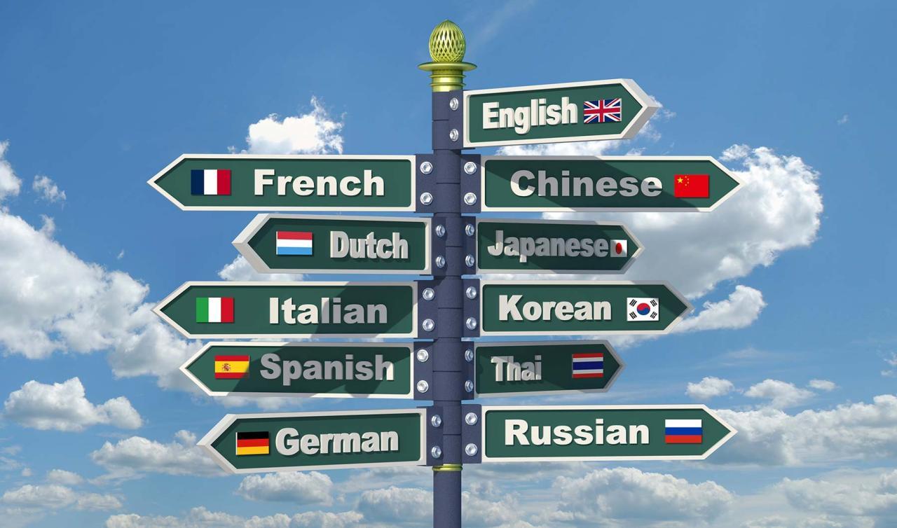 Ποιες είναι οι γλώσσες που κάποιος πρέπει να γνωρίζει εάν θέλει να βρει δουλειά σε διεθνές επίπεδο;