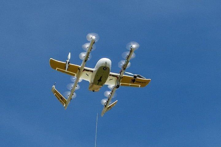 Εταιρεία «ντελίβερι» με drones πήρε άδεια λειτουργίας!