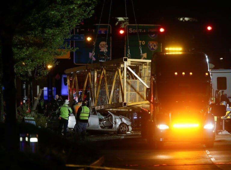 Τέσσερις νεκροί από πτώση γερανού σε υπό ανέγερση συγκρότημα της Google