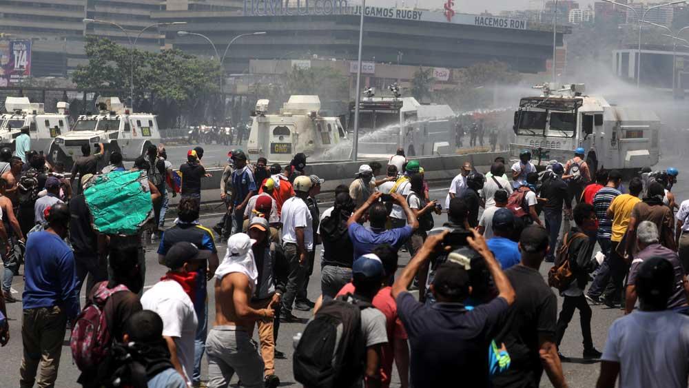 Βενεζουέλα: 4 νεκροί και 130 τραυματίες από τις συγκρούσεις
