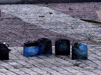 Μικροφθορές από γκαζάκι στο δημαρχιακό μέγαρο της Θεσσαλονίκης