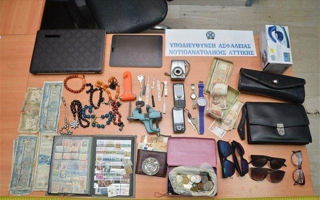 Δύο συλλήψεις για δεκάδες κλοπές από οχήματα στα νότια προάστια