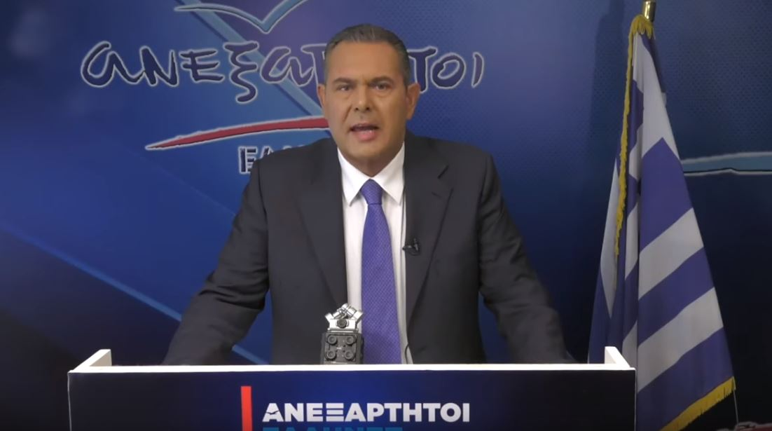 Εκτός εθνικών εκλογών οι ΑΝΕΛ! Δείτε το τηλεοπτικό διάγγελμα του Π. Καμμένου