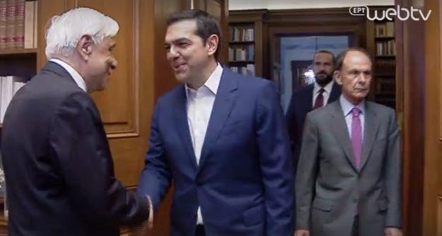 Ο Αλέξης Τσίπρας ζήτησε από τον Πρόεδρο της Δημοκρατίας την προκήρυξη πρόωρων εκλογών