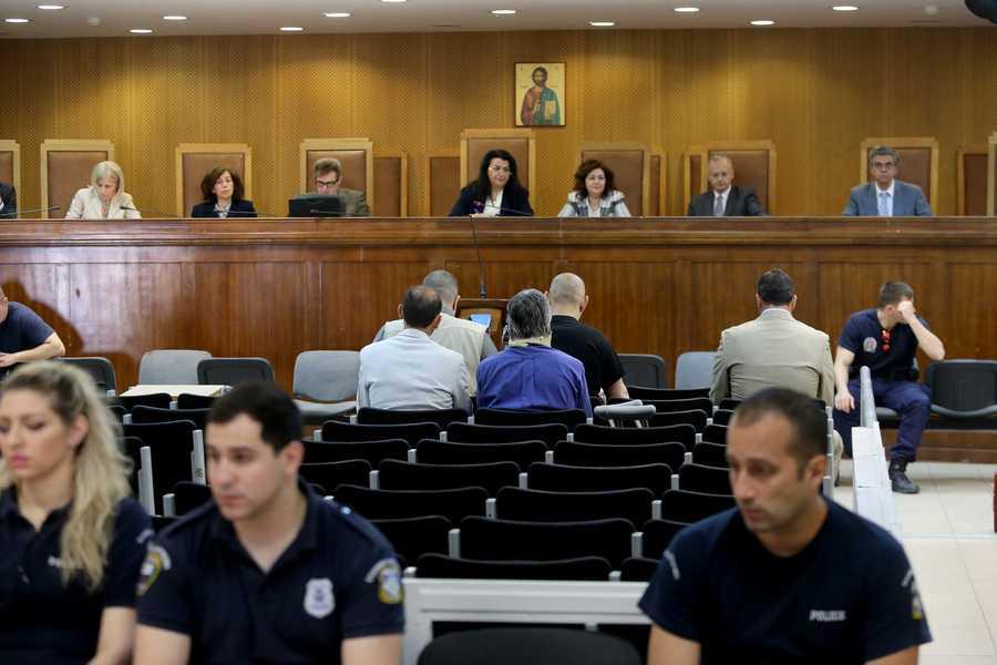 Συνεχίζουν τις απολογίες τους οι πρώην βουλευτές της Χρυσής Αυγής
