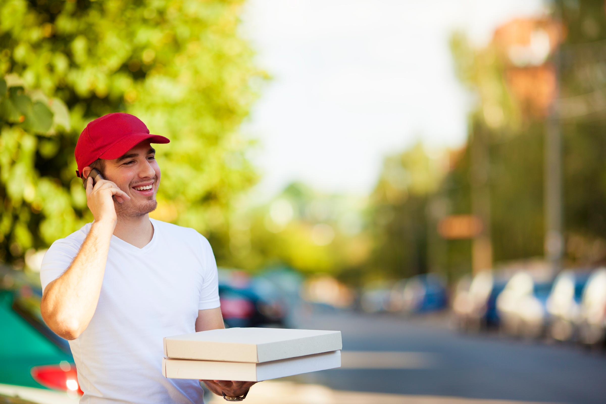 Ντελίβερι πίτσας χωρίς… ντελιβερά