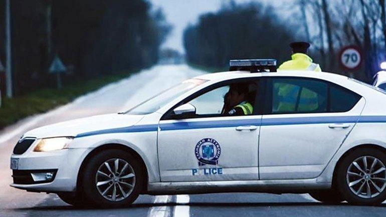 Επεισοδιακή σύλληψη 4 ατόμων που επέβαιναν σε κλεμμένο ΙΧ – Εμβόλισαν περιπολικό