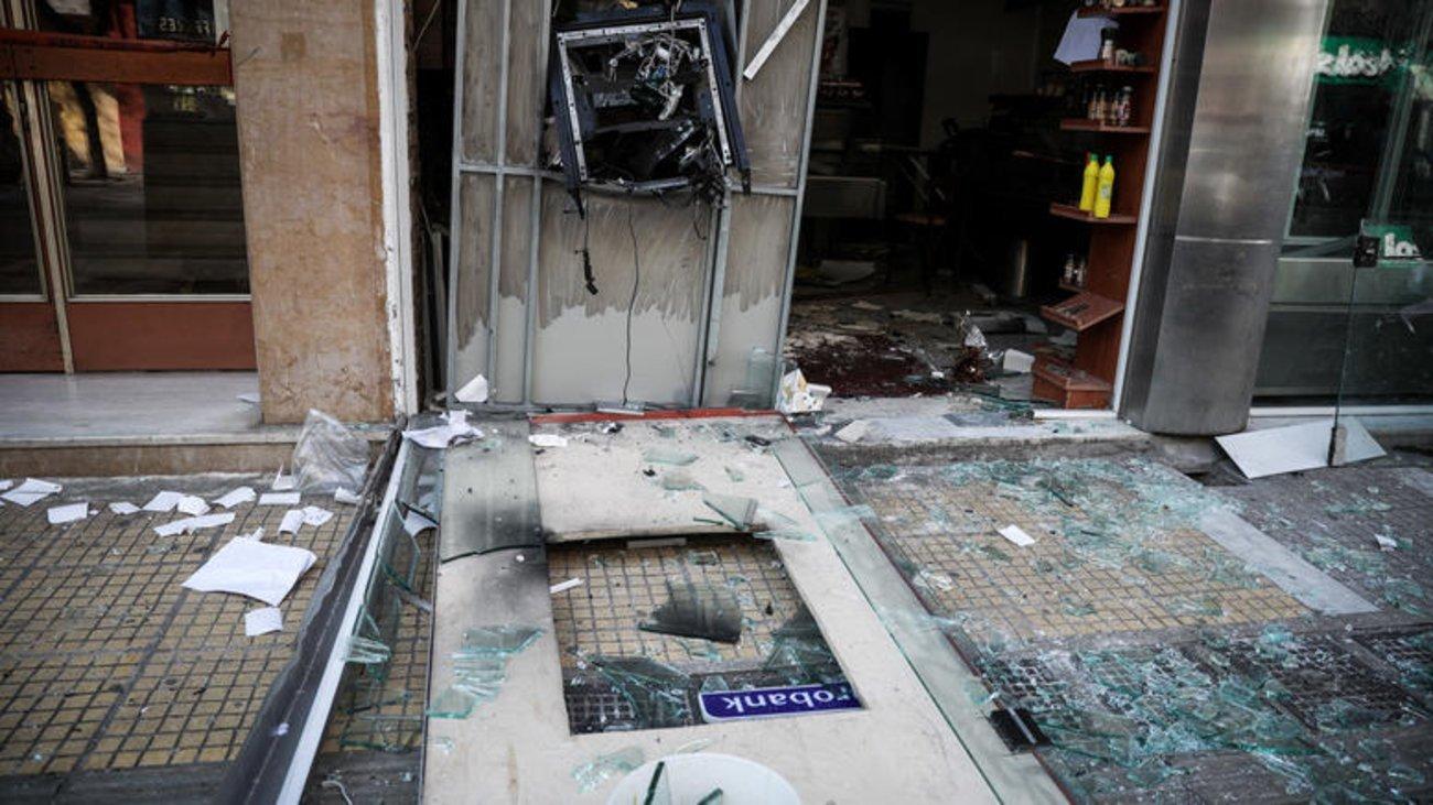 Θεσσαλονίκη: Άγνωστοι προκάλεσαν έκρηξη σε ΑΤΜ και αφαίρεσαν χρήματα