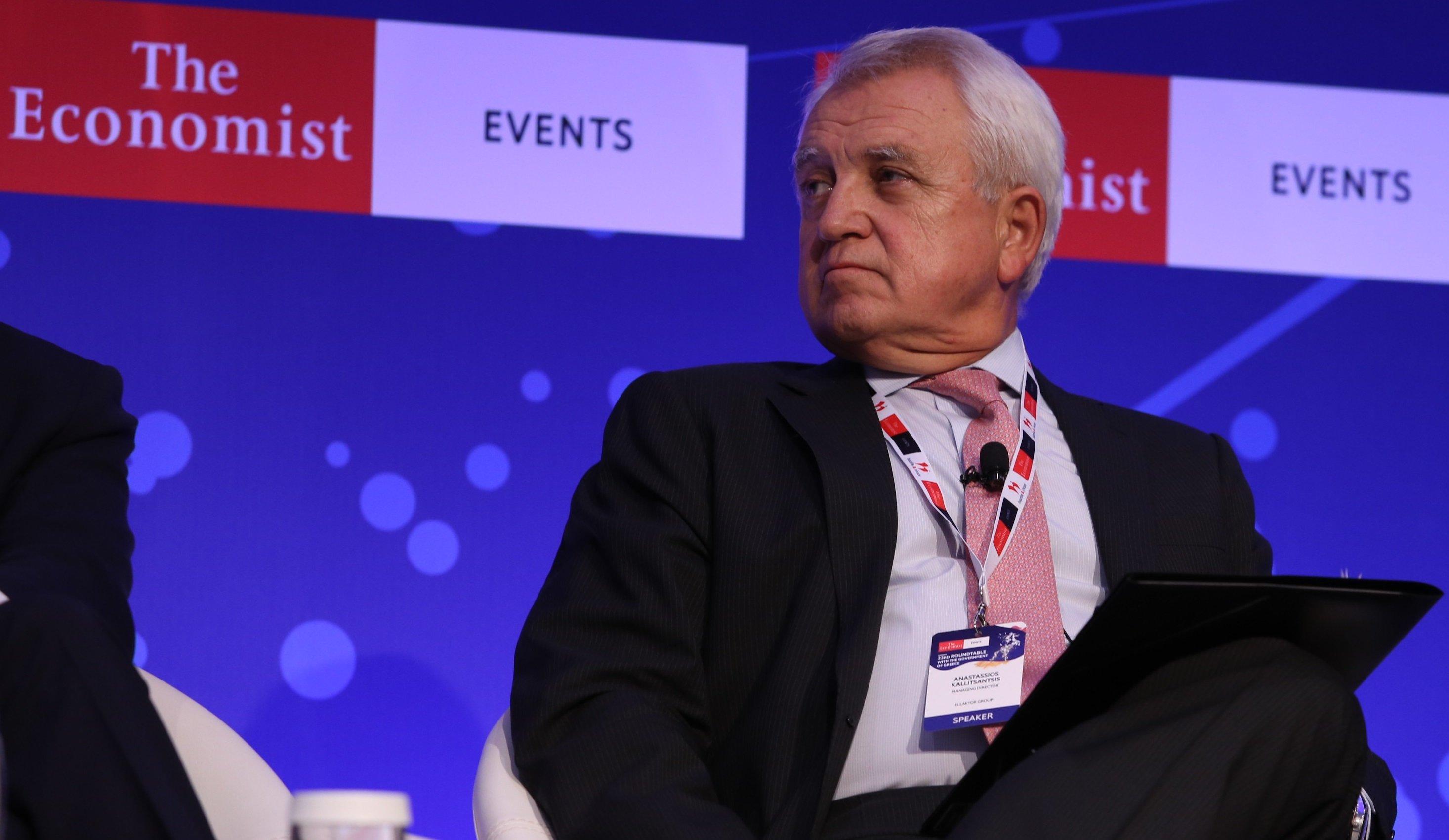 Ομιλία του κ. Αναστάσιου Καλλιτσάντση, Διευθύνοντος Συμβούλου Ομίλου ΕΛΛΑΚΤΩΡ στο 23ο Συνέδριο του Economist