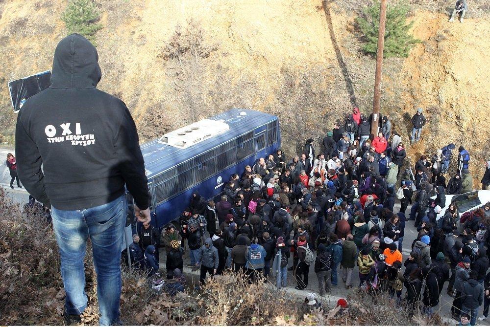 Σκουριές: Πανηγυρική αθώωση για τους 25 κατηγορούμενους κατοίκους
