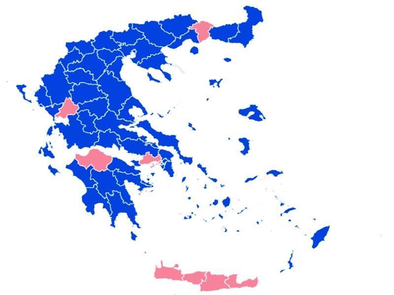 Εκλογές 2019: Το τελικό αποτέλεσμα της εθνικής κάλπης
