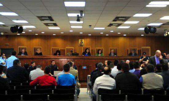 Δίκη Χρυσής Αυγής: Αιχμές κατά των συγκατηγορουμένων από τον ταμία της τοπικής Νίκαιας