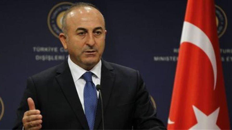 Ο Τούρκος ΥΠΕΞ Τσαβούσογλου συνεχάρη τον Κ. Μητσοτάκη στα ελληνικά, τουρκικά και αγγλικά