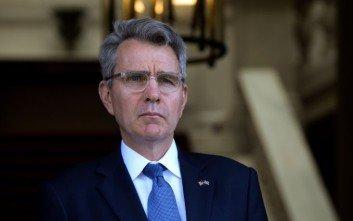 Πάιατ: Στηρίζουμε τις ελληνικές ενέργειες απέναντι στην Τουρκία