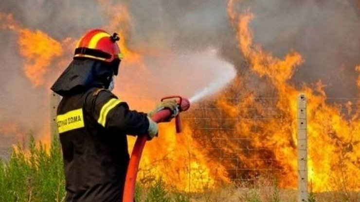 Συνέλαβαν 41χρονο στην Πέλλα για πρόκληση πυρκαγιάς από αμέλεια