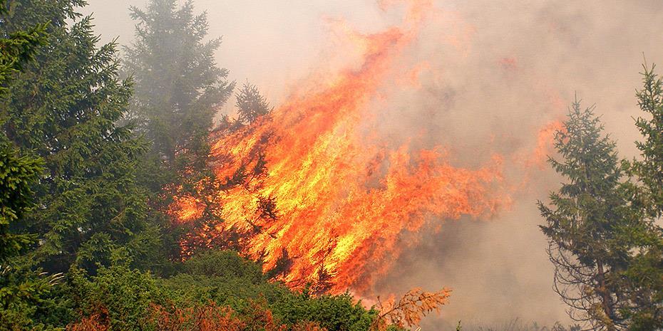 Λουτράκι: Συνεχίζεται η μάχη με τις φλόγες