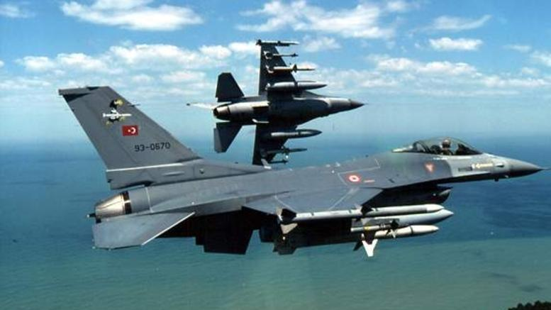 Πτήσεις τουρκικών F-16 πάνω από τις νήσους Ρω και Μεγίστη