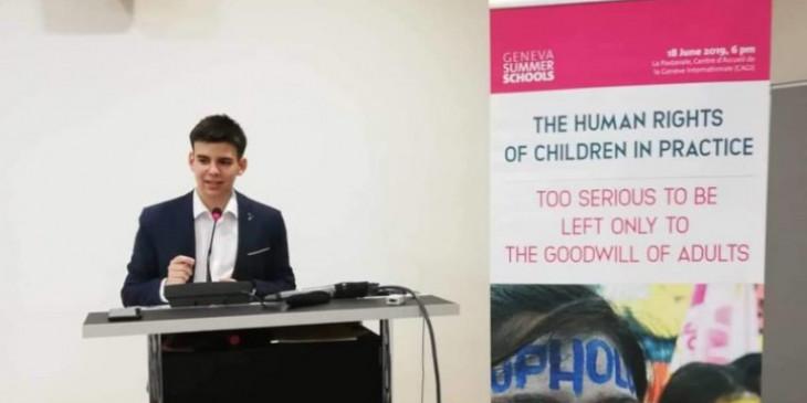17χρονος Έλληνας στους υποψήφιους για το Διεθνές Βραβείο Ειρήνης για Παιδιά