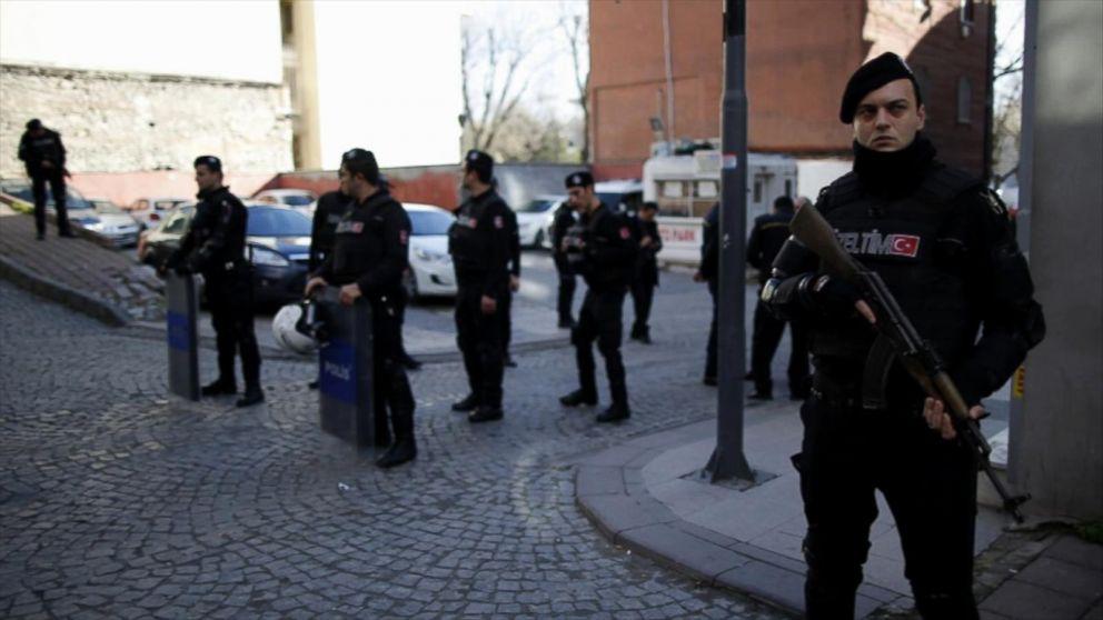 Κωνσταντινούπολη: Συνέλαβαν 3 υπόπτους για σχεδιασμό τρομοκρατικής επίθεσης για λογαριασμό του ISIS