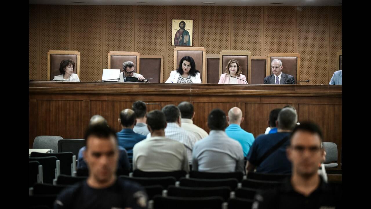 Δίκη Χρυσής Αυγής: Απολογήθηκαν οι πρώην βουλευτές Δ. Κουτσούκης και Αρ. Ματθαιόπουλος